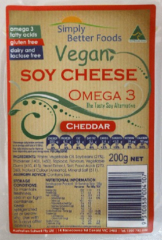 Omega 3 Soy Cheese