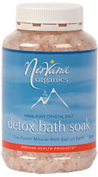 nirvana detox bath salts