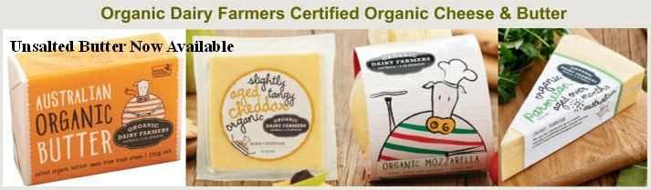 Organic Dairy Farmers cheese and butter